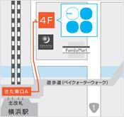 赤井クリニックスキンケアアクセスマップ